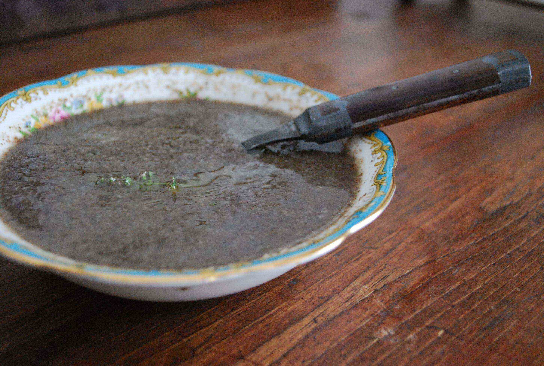 Bourdain's Mushroom Soup Recipe — Dishmaps