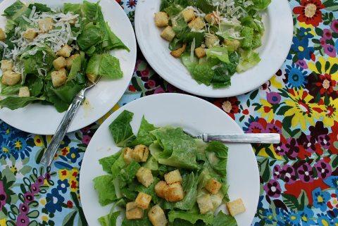 vgourmet, vegan cesar salad, Ruth Richardson