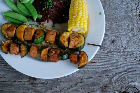 Ruth Richardson, vgourmet, vegan tofu satay