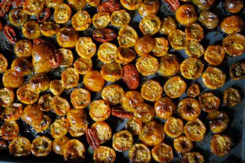 vgourmet, Ruth Richardson, slow roasted tomatoes