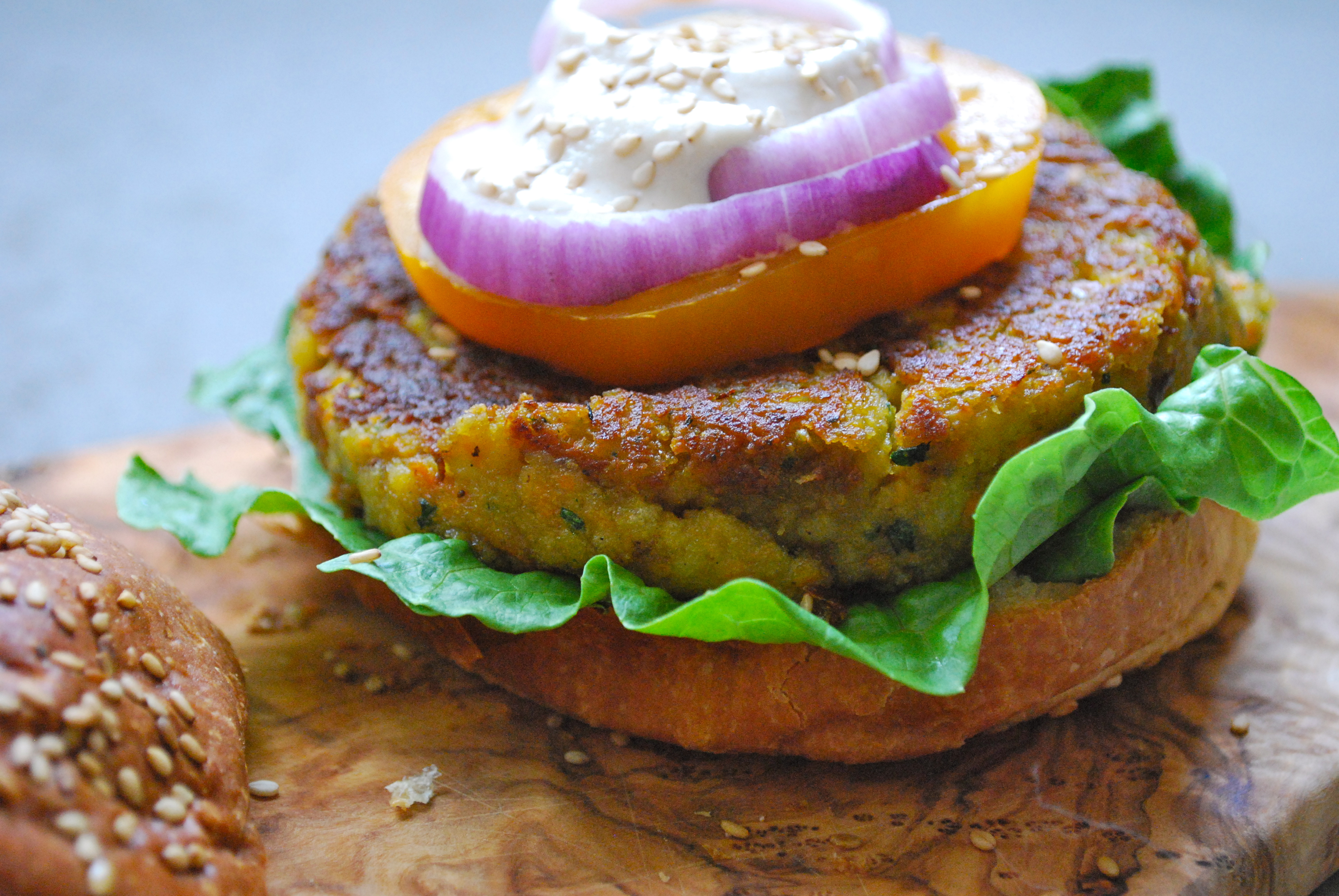 falafel burgers | v:gourmet