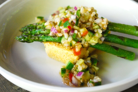 Ten Minute Tasty Asparagus And Brown Rice Recipes — Dishmaps