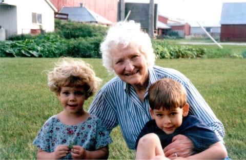 bekah and g-grandma